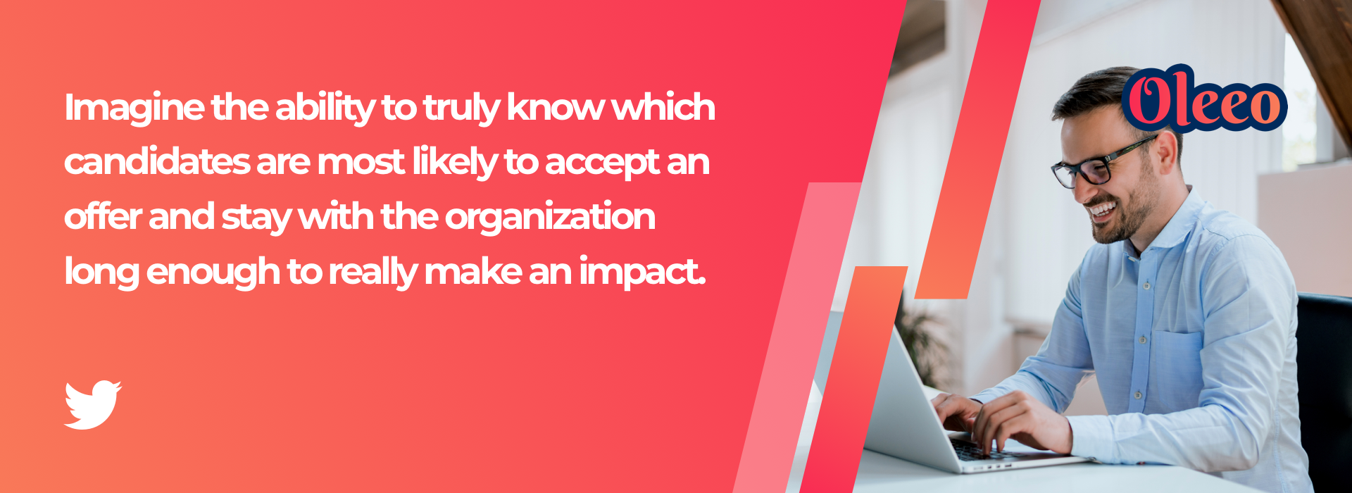 Imagine the ability to truly know which candidates are most likely to accept an offer and stay with the organization long enough to really make an impact.