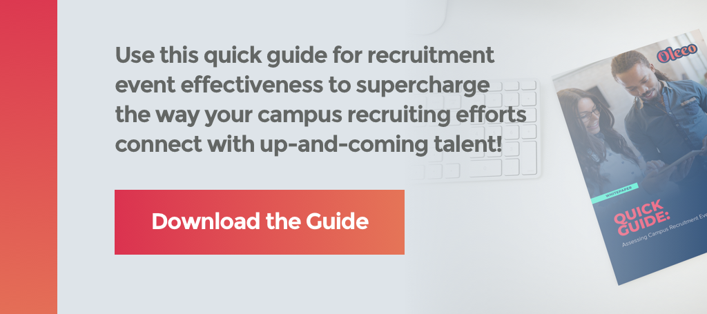 effective recruitment event whitepaper cta