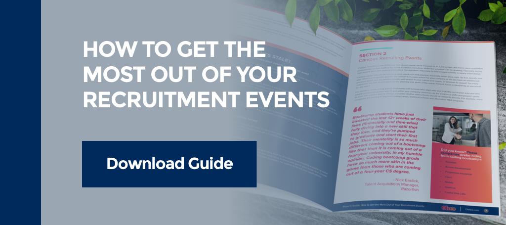 How to get the most out of your recruitment events guide CTA